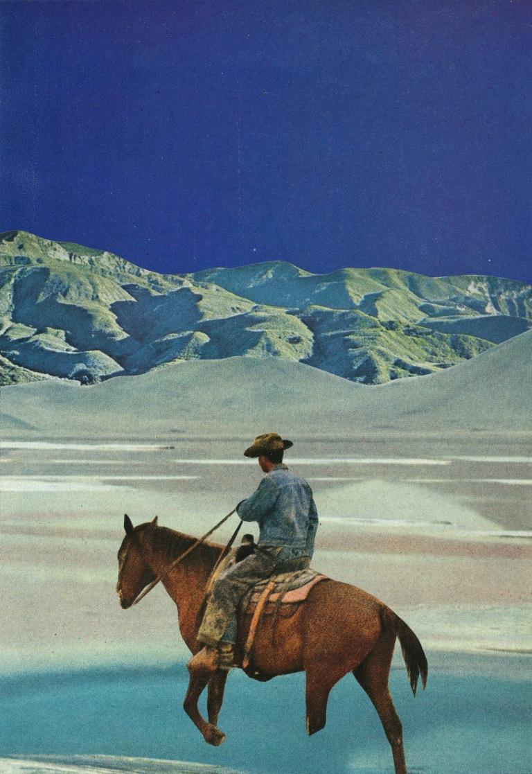 Jesse Treece - blue cowboy